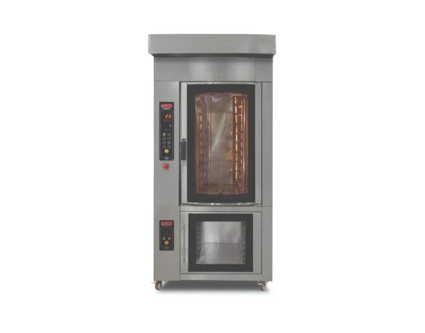 SGS PMD   Rotary Electric Patisserie Oven / Stainless Steel 100x140x140 cm