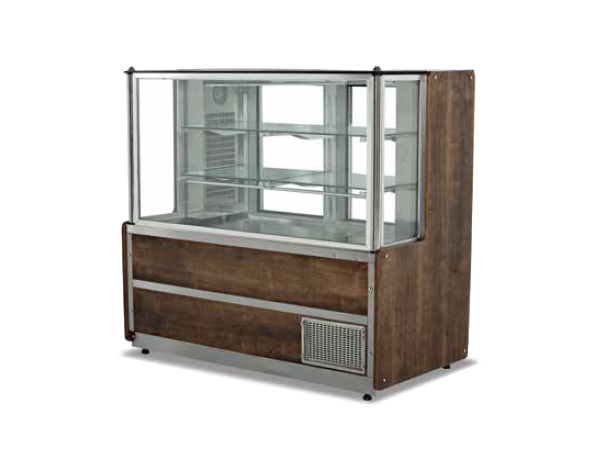 SGS MZ100ADC   Meat and Appetizer Showcase / Stainless Steel 100x75x135 cm