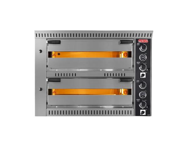 SGS PO 7070DE   Professional Pizza Oven / Painted Metal 104x99x76 cm