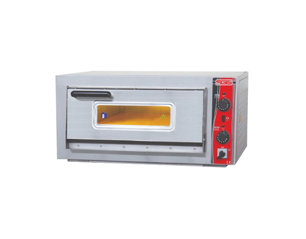SGS PO 5050E   Pizza Oven / Painted Metal 76x72x36 cm