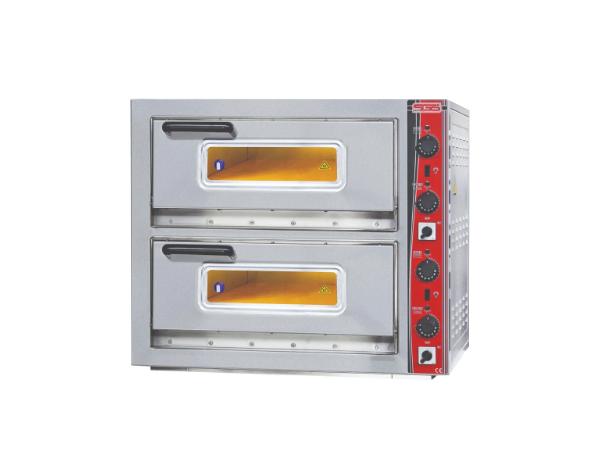 SGS PO 6262DE   Pizza Oven / Painted Metal 87x82x78 cm