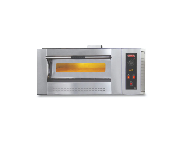 SGS PO 4G   Gas Pizza Oven / Painted Metal 110x95x52 cm