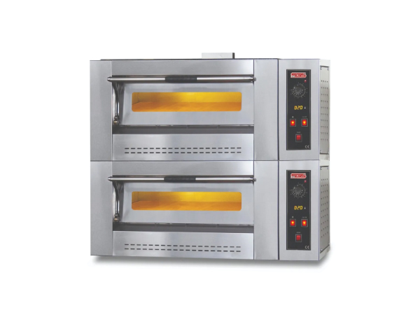 SGS PO DOUBLE6G   Gas Pizza Oven / Painted Metal 140x95x104 cm