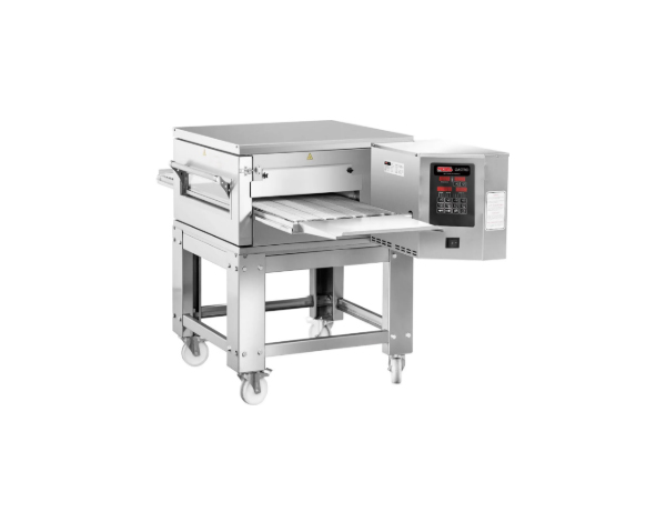 SGS PO K50   Gas Conveyor Pizza Oven / Stainless Steel 170x110x100 cm