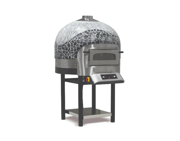 SGS SPO 01   Rotating Electric Pizza Oven / Painted Metal 120x136.8x200 cm