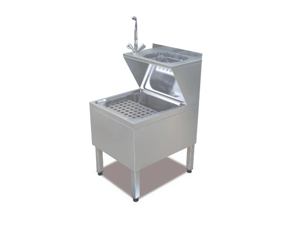 SGS PE 5060   Janitorial Sink Unit / Stainless Steel 50x60x90 cm