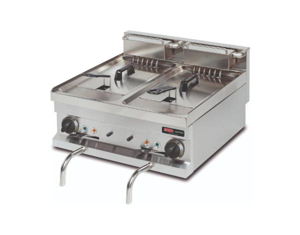 SGS EF606   Deep Fat Fryer / Stainless Steel 60x60x26.5 cm