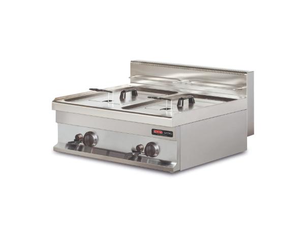 SGS GF606   Deep Fat Fryer / Stainless Steel 60x60x26.5 cm