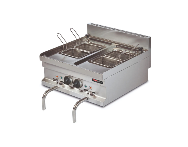 SGS EMH606   Pasta Cooker / Stainless Steel 60x60x26.5 cm
