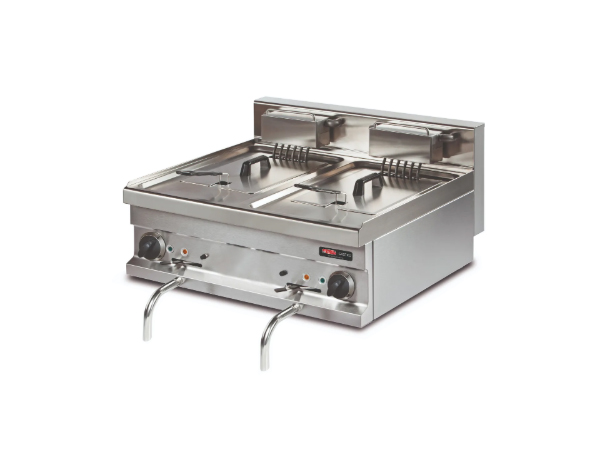 SGS EF721S   Deep Fat Fryer / Stainless Steel 80x70x29 cm