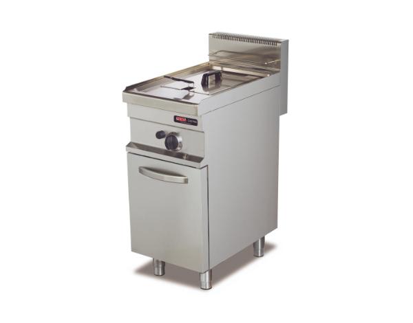SGS GF712   Deep Fat Fryer / Stainless Steel 40x70x90 cm