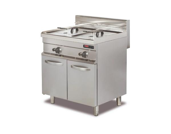 SGS GF722   Deep Fat Fryer / Stainless Steel 80x70x90 cm