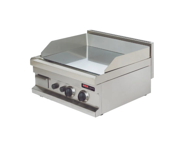 SGS GG606   Fry Top / Stainless Steel 60x60x26.5 cm