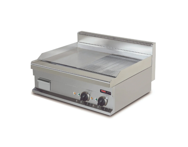 SGS GG606SG   Fry Top / Stainless Steel 60x60x26.5 cm