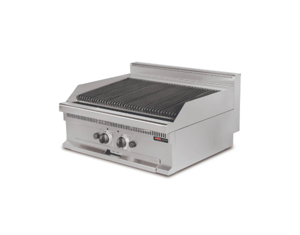 SGS GW606   Vapour Grill / Stainless Steel 80x60x26.5 cm