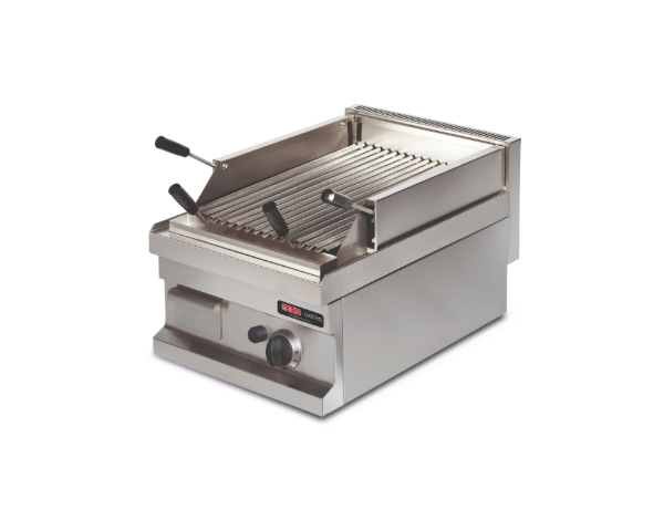 SGS GGL604   Lava Char Grill / Stainless Steel 40x60x26.5 cm