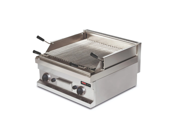SGS GGL606   Lava Char Grill / Stainless Steel 60x60x26.5 cm
