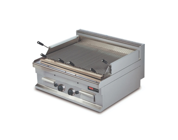 SGS GGL721S   Gas Lava Char Grill / Stainless Steel 80x70x29 cm