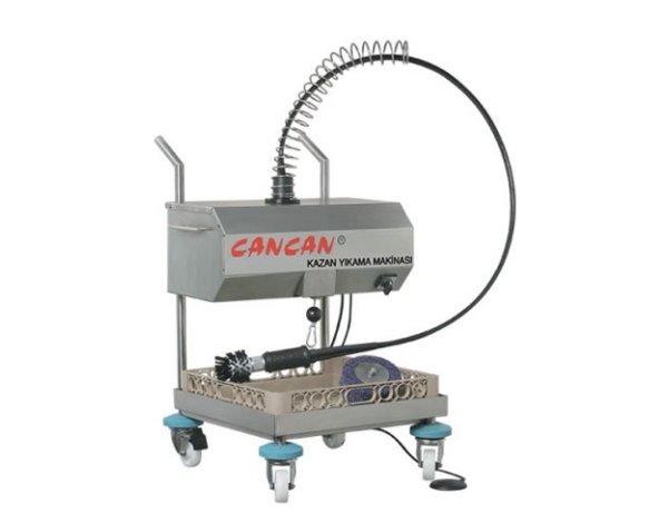 CANCAN 1001 1105   Industrial Model Pot Washing Machine / Stainless Steel 63x30x24  cm