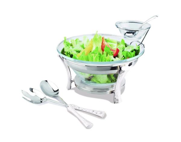 Hisar Milan   Salad Serving Set / Stainless Steel