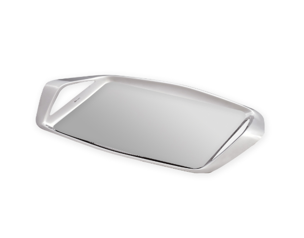Hisar Tealove   Serving Tray / Stainless Steel 50x26 cm