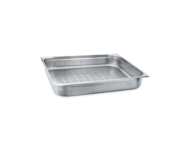 KAPP 30921040   2/1 Perforated GN Pan / Stainless Steel 650x530x40 mm