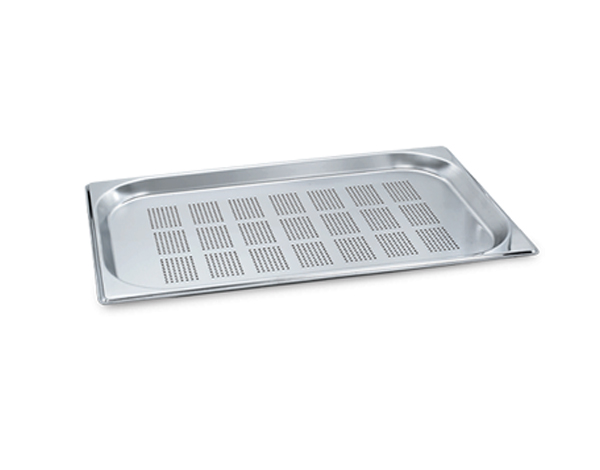 KAPP 30911100   1/1 Perforated GN Pan / Stainless Steel 530x325x100 mm