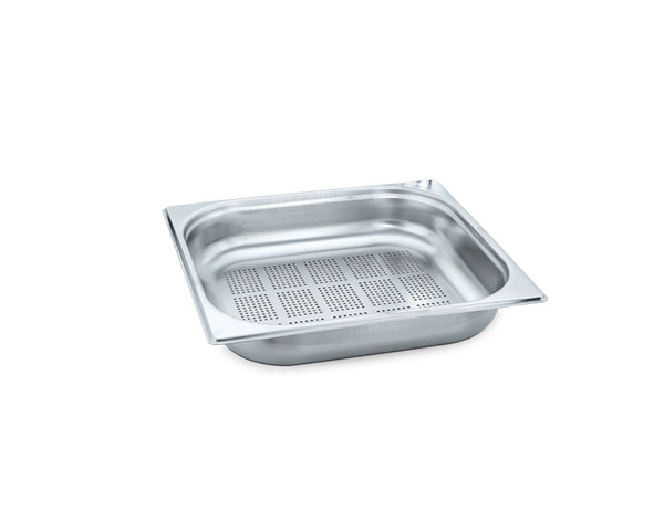 KAPP 30923100   2/3 Perforated GN Pan / Stainless Steel 354x325x100 mm