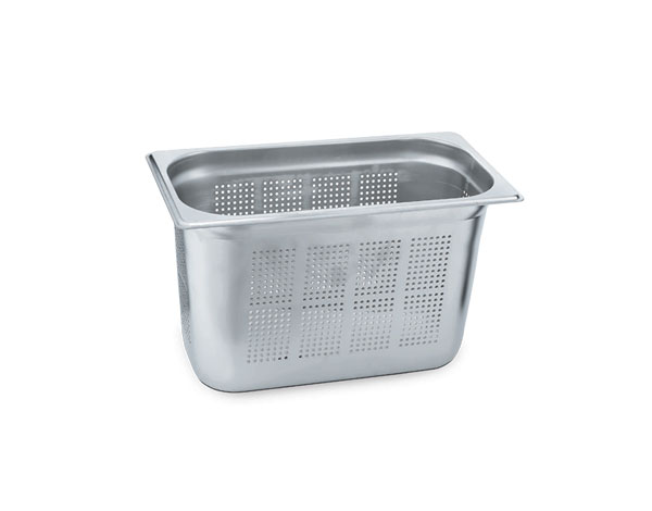 KAPP 30913040   1/3 Perforated GN Pan /  Stainless Steel 325x176x40 mm