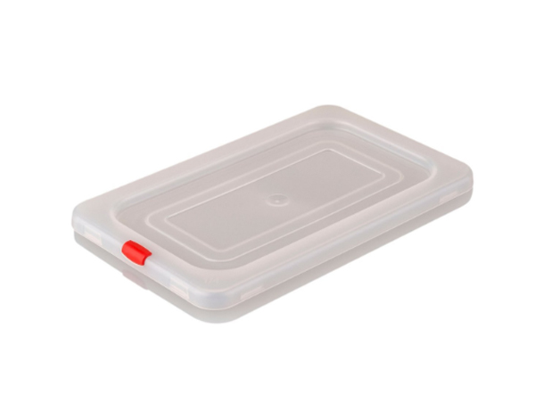 KAPP 46021014   1/4 Storage Container Pan Lid / Polypropylene 265x162 mm
