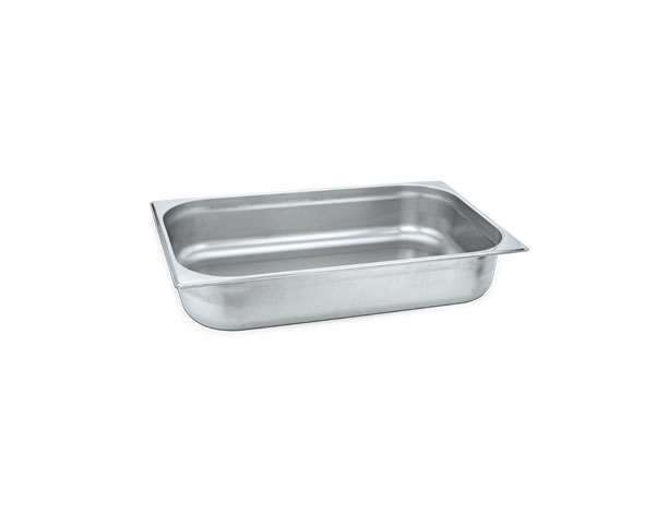 KAPP 31021010   2/1 Gastronom Pan / Stainless Steel 650x530x10 mm