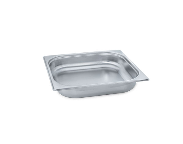 KAPP 31023020   2/3 Gastronom Pan / Stainless Steel 354x325x20 mm