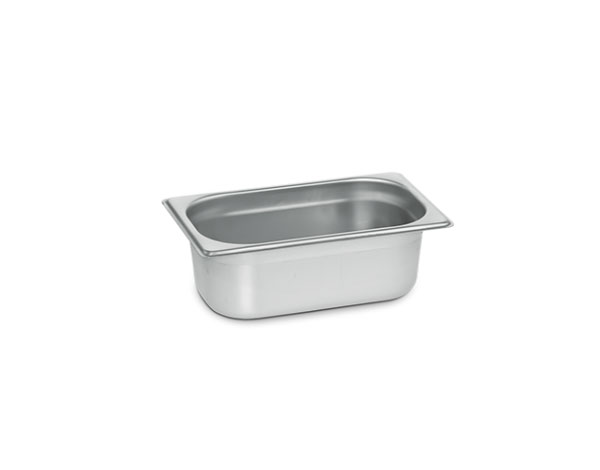 KAPP 31014100   1/4 Gastronom Pan / Stainless Steel 265x162x100 mm
