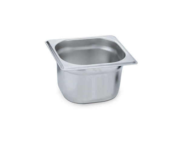 KAPP 31016100   1/6 Gastronom Pan / Stainless Steel 176x162x200 mm
