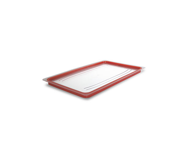 KAPP 46011011   1/1 Lid with Hermatic Seal / Polycarbonate 530x325 mm