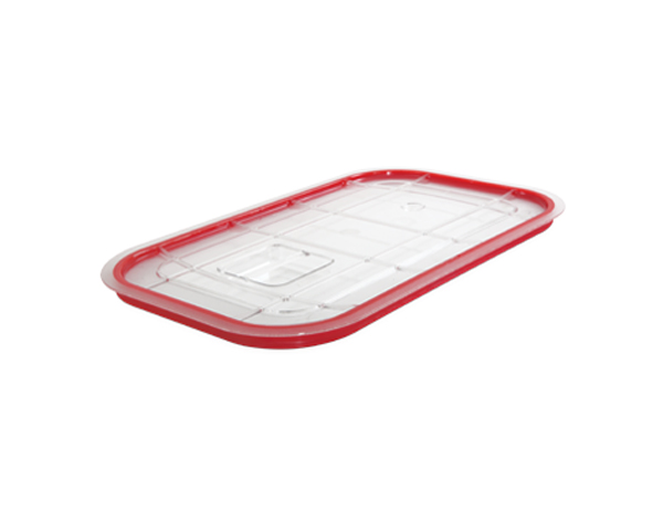 KAPP 46012011   1/1 Lid with Hermatic Seal (For Stainless Steel GN Pan) / Polycarbonate 530x325 mm