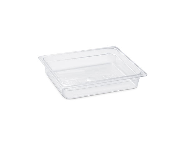 KAPP 46012100   1/2 100 Gastronom Pan / Polycarbonate 325x265x100 mm 5.9 Lt