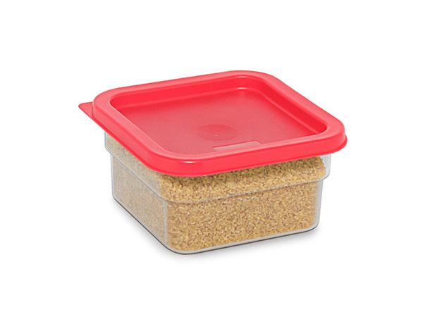 KAPP 62030002   Square Food Storage Container / Polycarbonate 180x180x100 mm 2 Lt