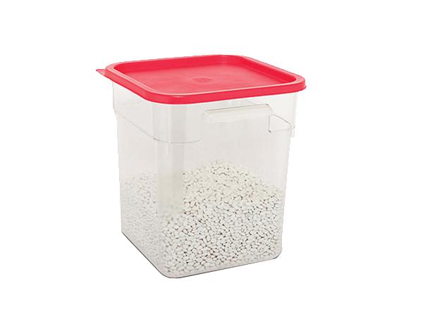 KAPP 62030018   Square Food Storage Container / Polycarbonate 285x285x320 mm 18 Lt