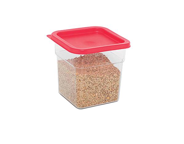 KAPP 62030004   Square Food Storage Container / Polycarbonate 182x182x190 mm 3.8 Lt