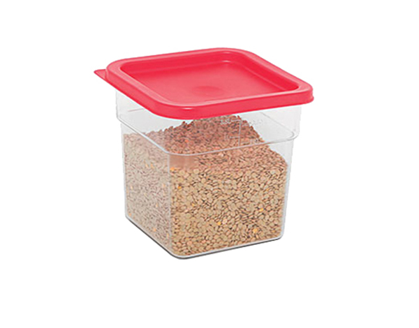 KAPP 62030006   Square Food Storage Container / Polycarbonate 225x225x190 mm 6 Lt