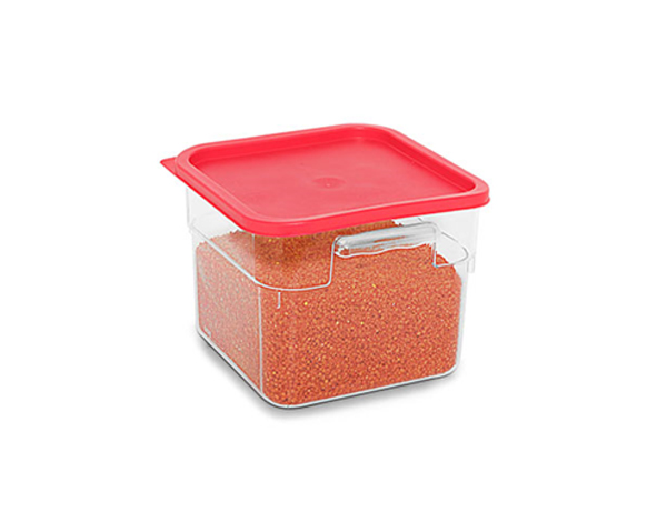 KAPP 62030008   Square Food Storage Container / Polycarbonate 225x225x230 mm 8 Lt