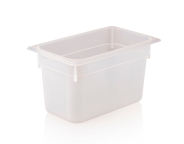 KAPP 46024150   1/4 150 Storage Container / Polypropylene 265x162x150 mm 3.7 Lt