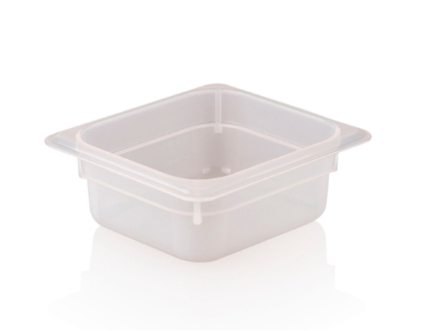 KAPP 46021665   1/6 65 Storage Container / Polypropylene  176x162x65mm 1 Lt