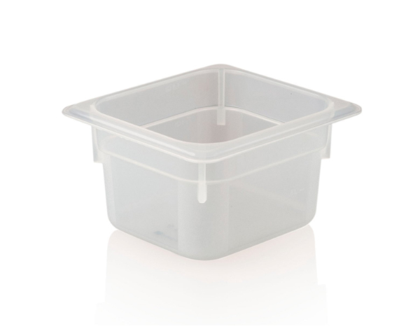 KAPP 46026100   1/6 100 Storage Container / Polypropylene 176x162x100 mm 1.5 Lt