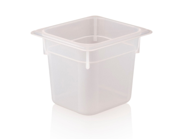 KAPP 46026150   1/6 150 Storage Container / Polypropylene 176x162x150 mm 2.2 Lt