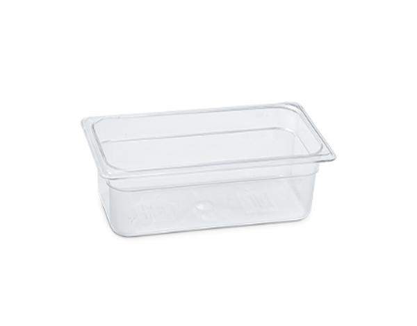 KAPP 46014100   1/4 100 Gastronom Pan / Polycarbonate 265x162x100 mm 2.5 Lt