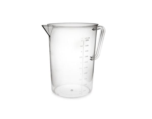 KAPP 60021005   Measuring Cup / Polycarbonate 5 Lt
