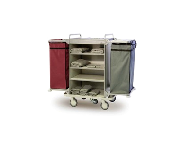 Evinoks EFS 2M   Housekeeping Trolley /  Aluminium Compozite 96/156x60x129 cm