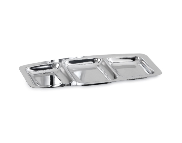 KAPP 35820003   Partitioned Self Service / Stainless Steel 12x25.5x1.5 cm